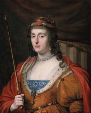 Elizabeth Stuart by Honthorst